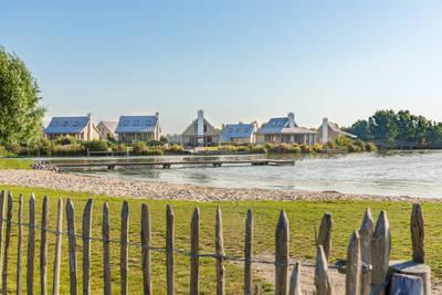 Waterrijk Oesterdam in Tholen - Zeeland, Nederland foto 11060