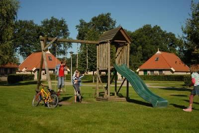 Landschapspark Striks Erve in Ijhorst - Overijssel, Nederland foto 12147