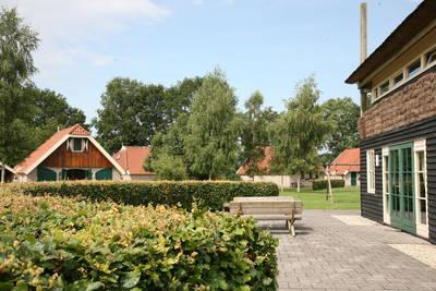 Landschapspark Striks Erve in Ijhorst - Overijssel, Nederland foto 12148