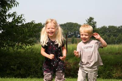 Landschapspark Striks Erve in Ijhorst - Overijssel, Nederland foto 12152