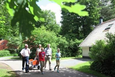 Natuurpark De Witte Bergen in Ijhorst - Overijssel, Nederland foto 12155