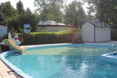 Chalet Vlinder op recreatiepark de Veldkamp in Epe - Gelderland, Nederland foto 16310