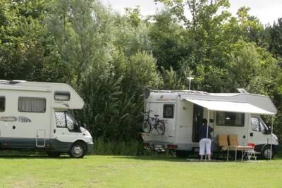 Camperplaats xl met stroom