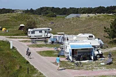 Camperplaats met stroom