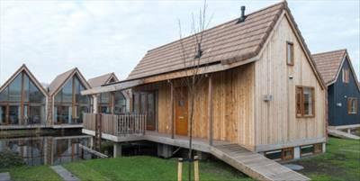 Landal De Reeuwijkse Plassen   6-pers. waterwoning   Type 6C1   Reeuwijk, Zuid-Holland
