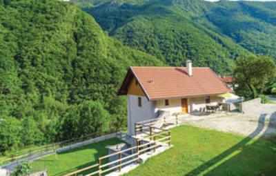 Vakantiehuis In Goriska-Grahovo Ob Baci (Ser111)