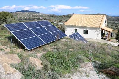 Natuurhuisje in Off the grid 100% solar county house