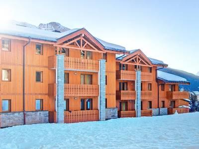 Chalet-appartement Les Balcons de Val Cenis Le Haut Type 1 met cabine - 4-6 personen