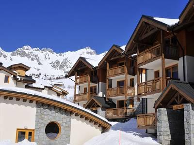 Chalet-appartement Résidence Les 4 Vallées - 2-4 personen
