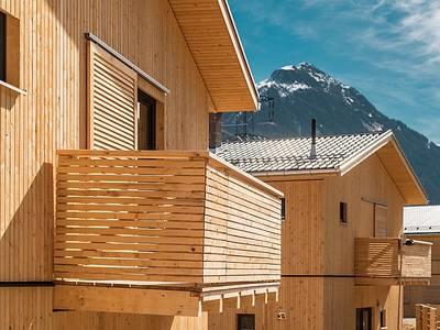 Chalet-appartement Haus Pur duplex met privé-sauna - 6-8 personen