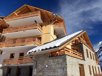 Appartement Le Crystal Blanc met cabine, 35 m² - 4-6 personen