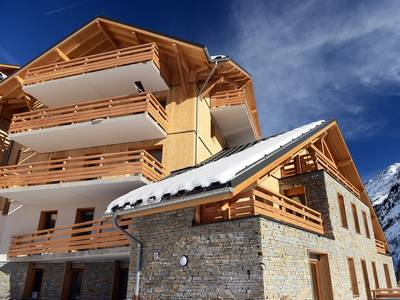 Appartement Le Crystal Blanc met cabine, 39 à 44 m² - 4-6 personen