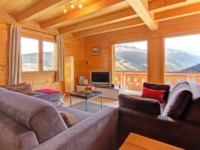 Chalet Etoile des 4 Vallées met privé-sauna - 8 personen