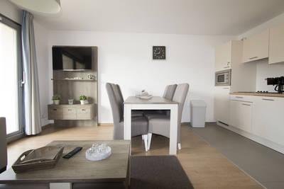 Bray Dunes - Margats: Appartement voor 4 personen, aangepast voor mindervaliden