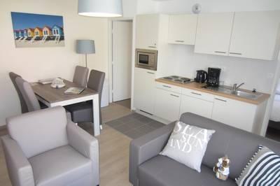 Bray Dunes - Margats: Appartement voor 4 personen